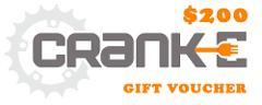 Cranke 1 Year Gift Card ($200)