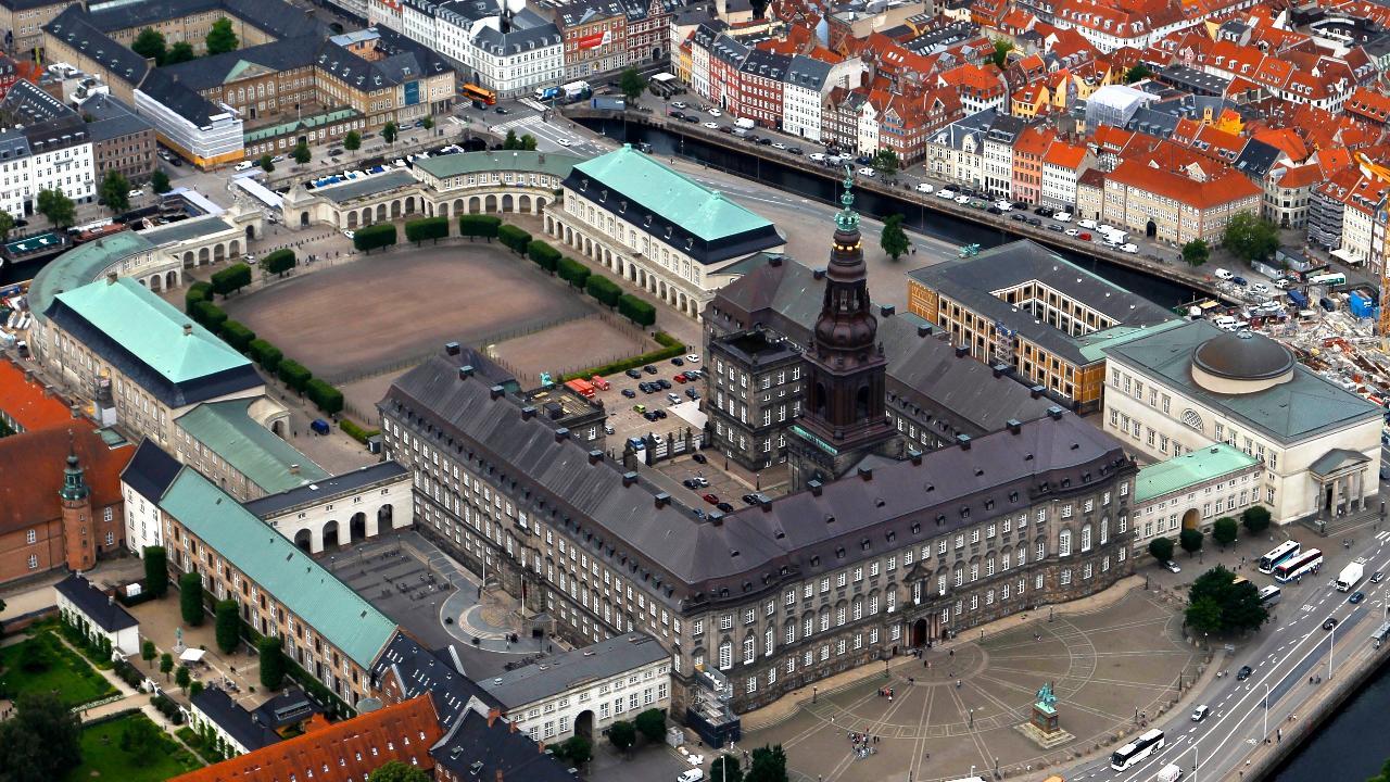 Slotsholmen og Christiansborg
