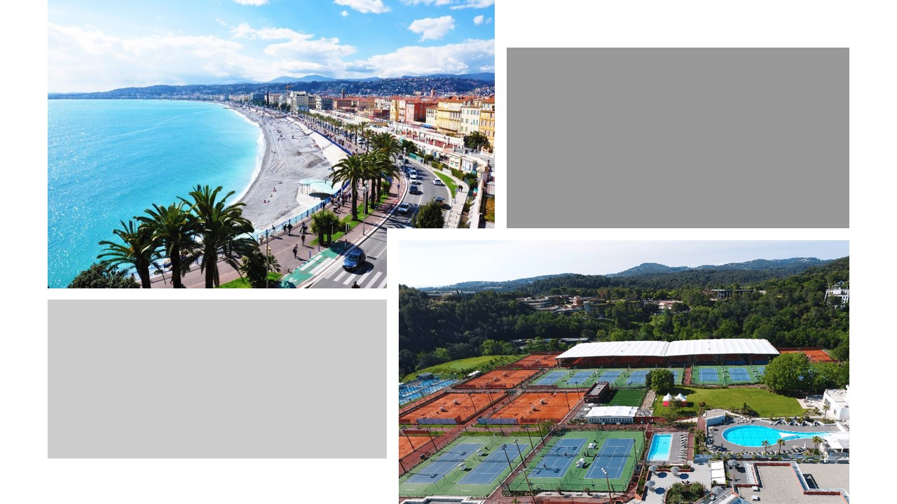 7 Day Nice Tour with Mouratoglou Tennis Tournament & Golf Outing
