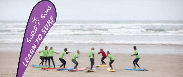 Learn to Surf Adventure Day Tour