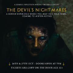 Milton Keynes - The Devil's Nightmares Halloween Special: Age 15+
