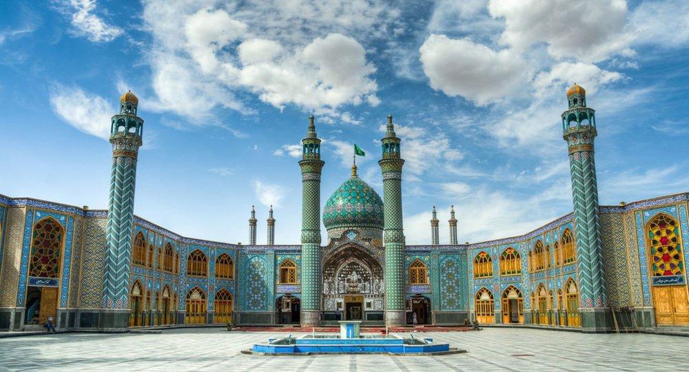 Mohammed Helal Shrine in Aran va Bidgol, Kashan