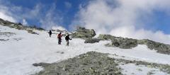 Climbing Damavand North East Face