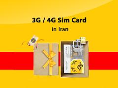Iranian 3G/4G mobile SIM Card