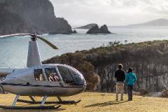 Tasman Peninsula Helicopter Flight - includes history tour, tastings and 3 course lunch
