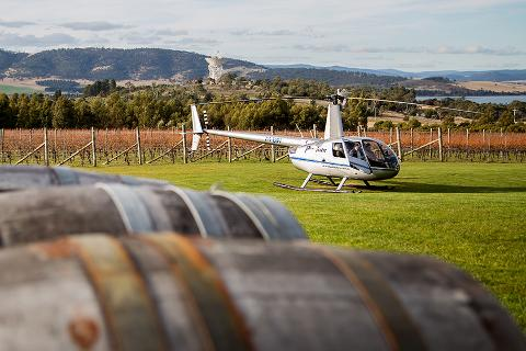 MONA Gallery Tour Hobart – includes scenic helicopter flight Tasmania Australia