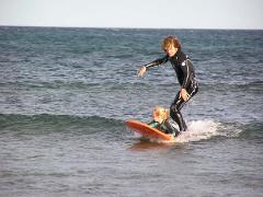 5 Lesson Private Surf Package