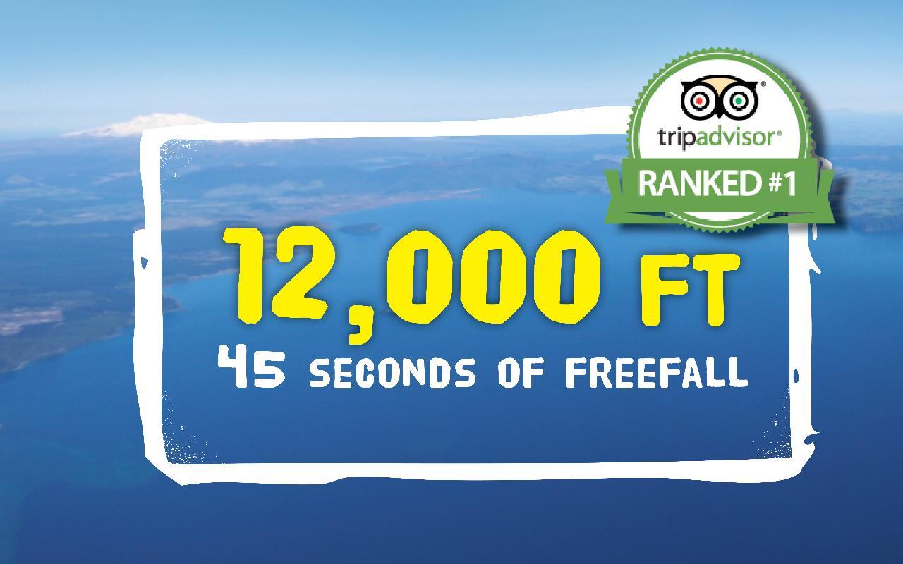 12,000 ft Tandem Skydive