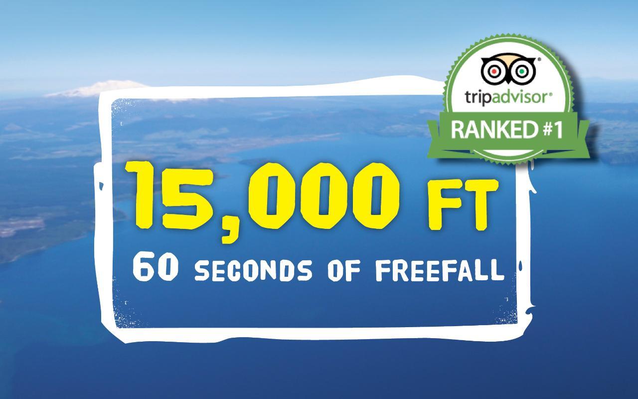 15,000 ft Tandem Skydive
