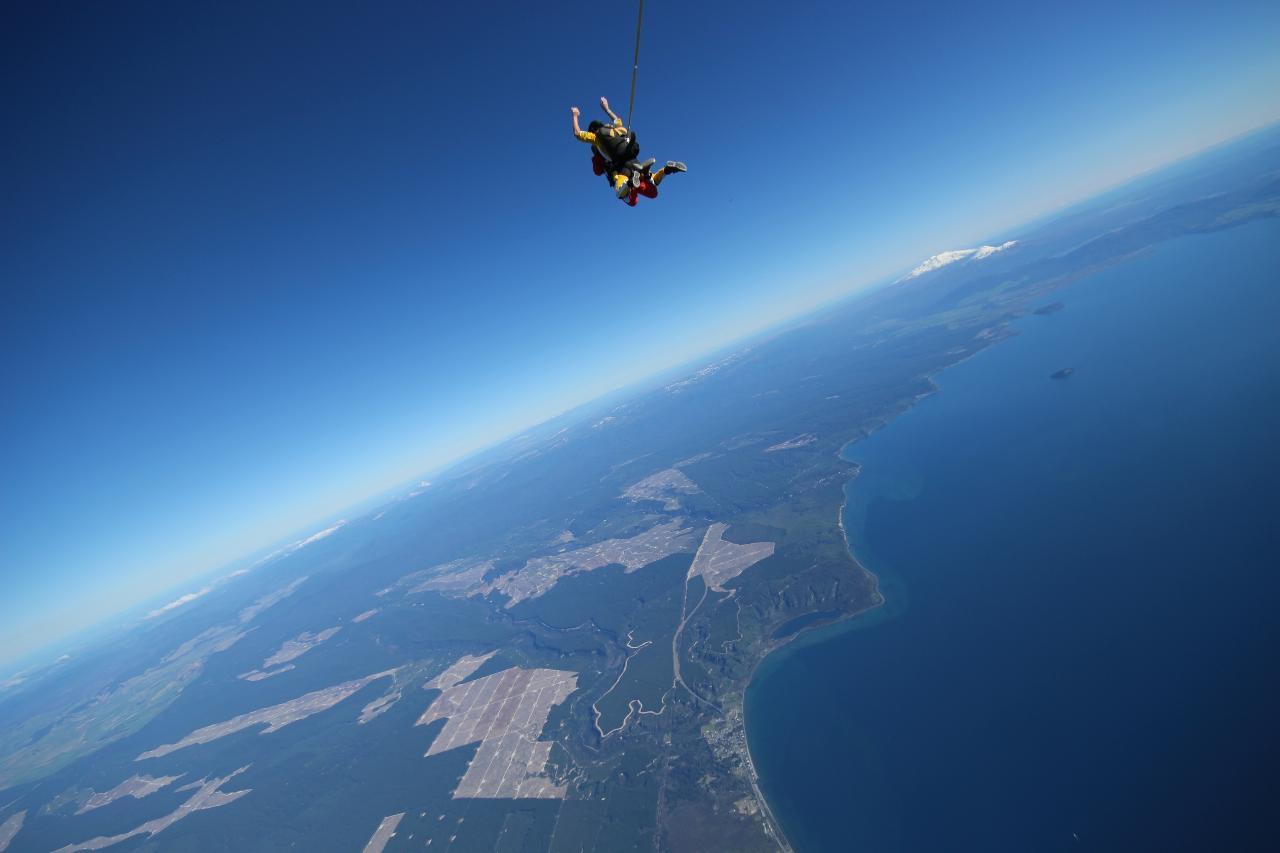 18,500ft Gift Voucher - Weekend Skydive