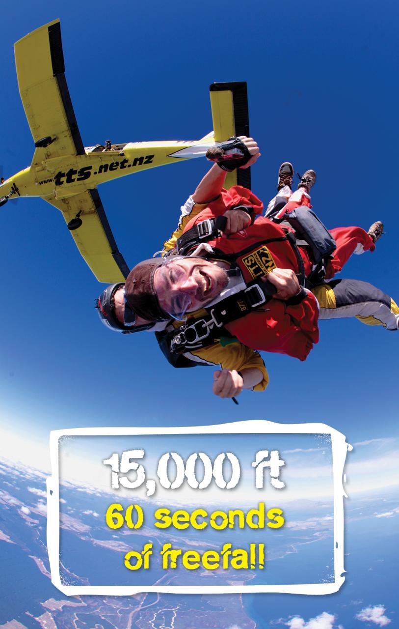 15,000ft Tandem Skydive