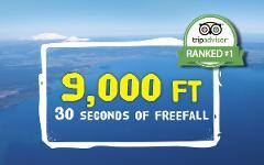 9,000 ft Tandem Skydive
