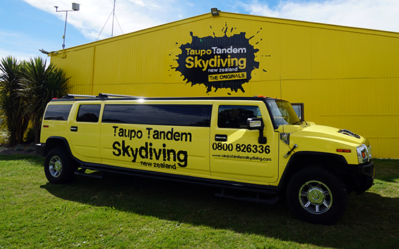 12,000 ft Tandem Skydive with Pick up