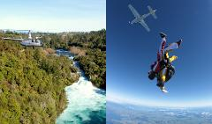 Heli-Dive: Helicopter Flight & Skydive Combo