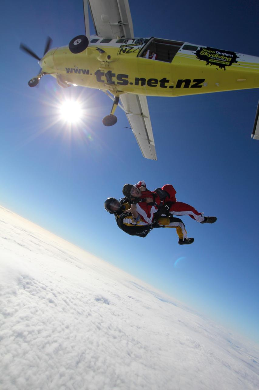 12,000ft Tandem Skydive with Pick up