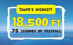 18,500ft Tandem Skydive