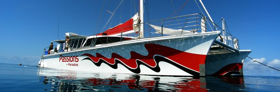 Du thuyền của công ty du lịch sinh thái Passion of Paradise - Địa chỉ uy tín cho những ai muốn 1 tuần trăng mật gắn bó với thiên nhiên