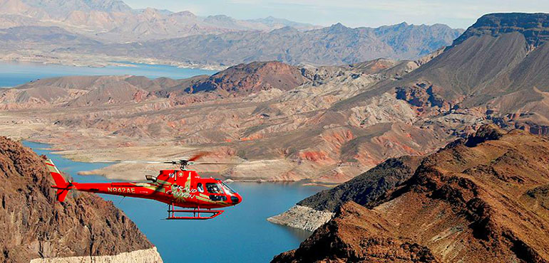 Hoover Dam With Helicopter Flight
