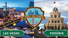 One-way Shuttle: Phoenix to Las Vegas