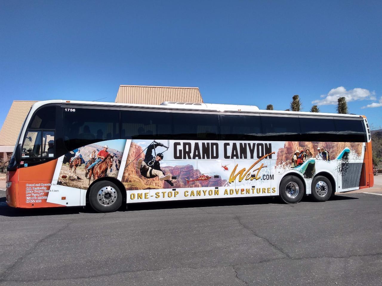 One-way Shuttle: Grand Canyon West Rim to Las Vegas
