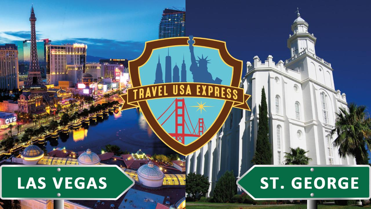 One-way Shuttle: Las Vegas to St.George