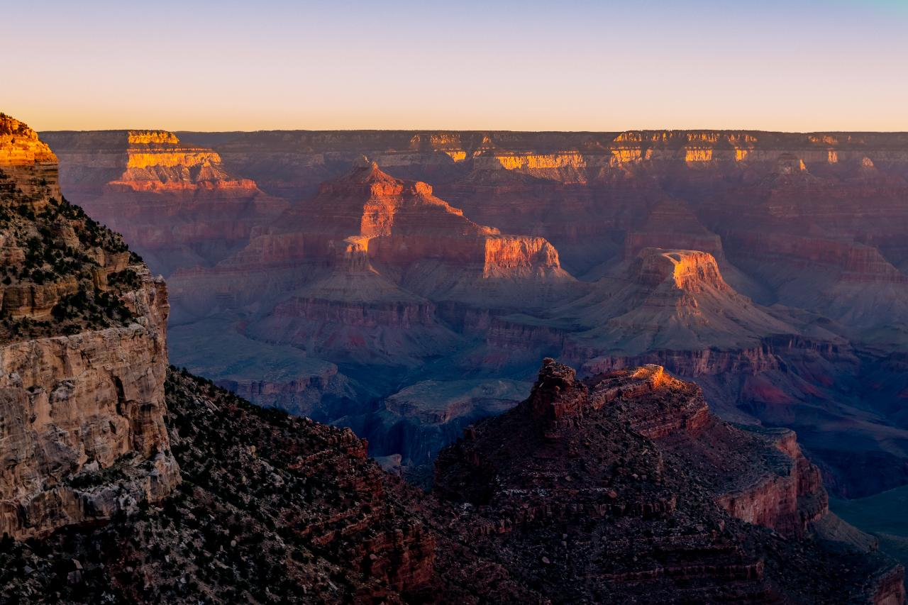 Grand Canyon National Park South Rim Overnight Tour from Las Vegas