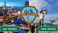 One-way Shuttle: San Ysidro to Las Vegas