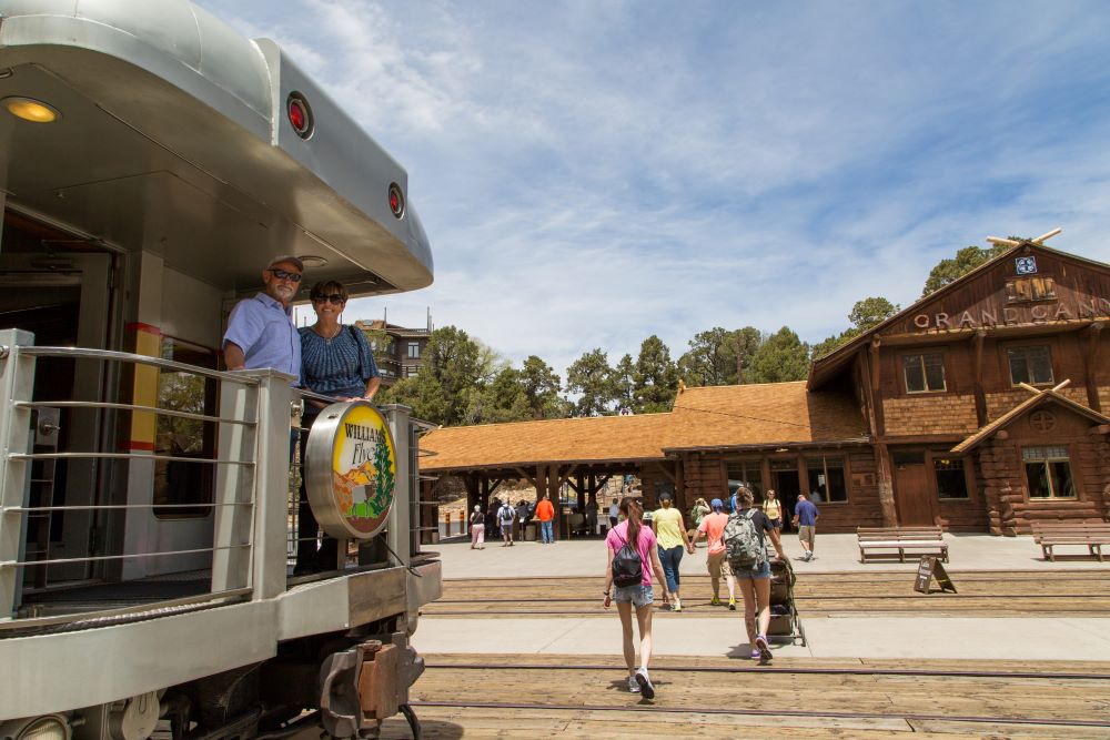 Grand Canyon National Park with Historic Railway Trip