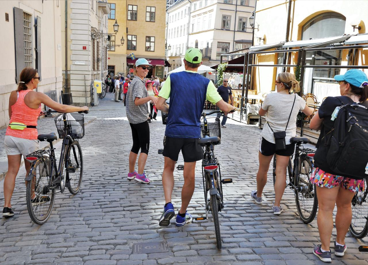 Stockholm Small Group Bike Tour