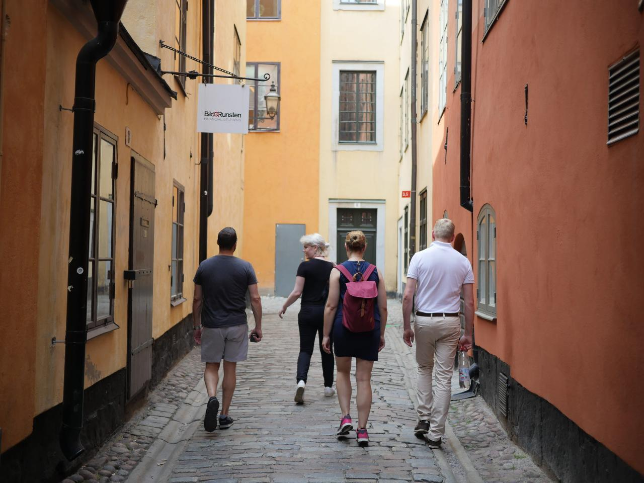 Stockholm Small Group Walking Tour