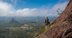 SE QLD Helicopter Symposium - Mount Beerwah Climb