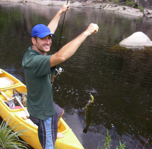 One day - Fishing & Whitewater Canoeing - Including Meals & Transfers