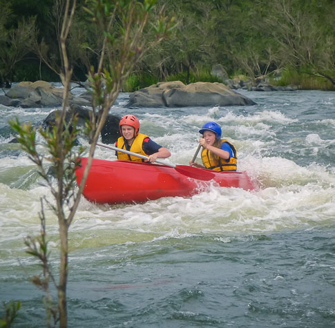 Whitewater Canoeing - 1/2 day