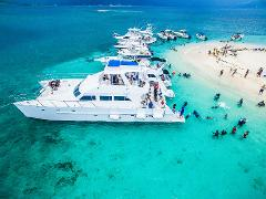Maiden Cay Sunday Beach Party on Loose Cannon - RESIDENTS