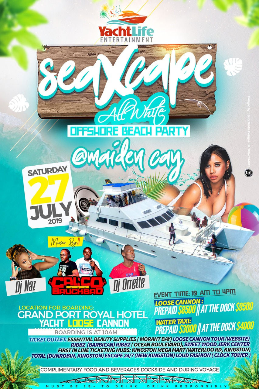 SeaXcape All White Beach Party - July 27th
