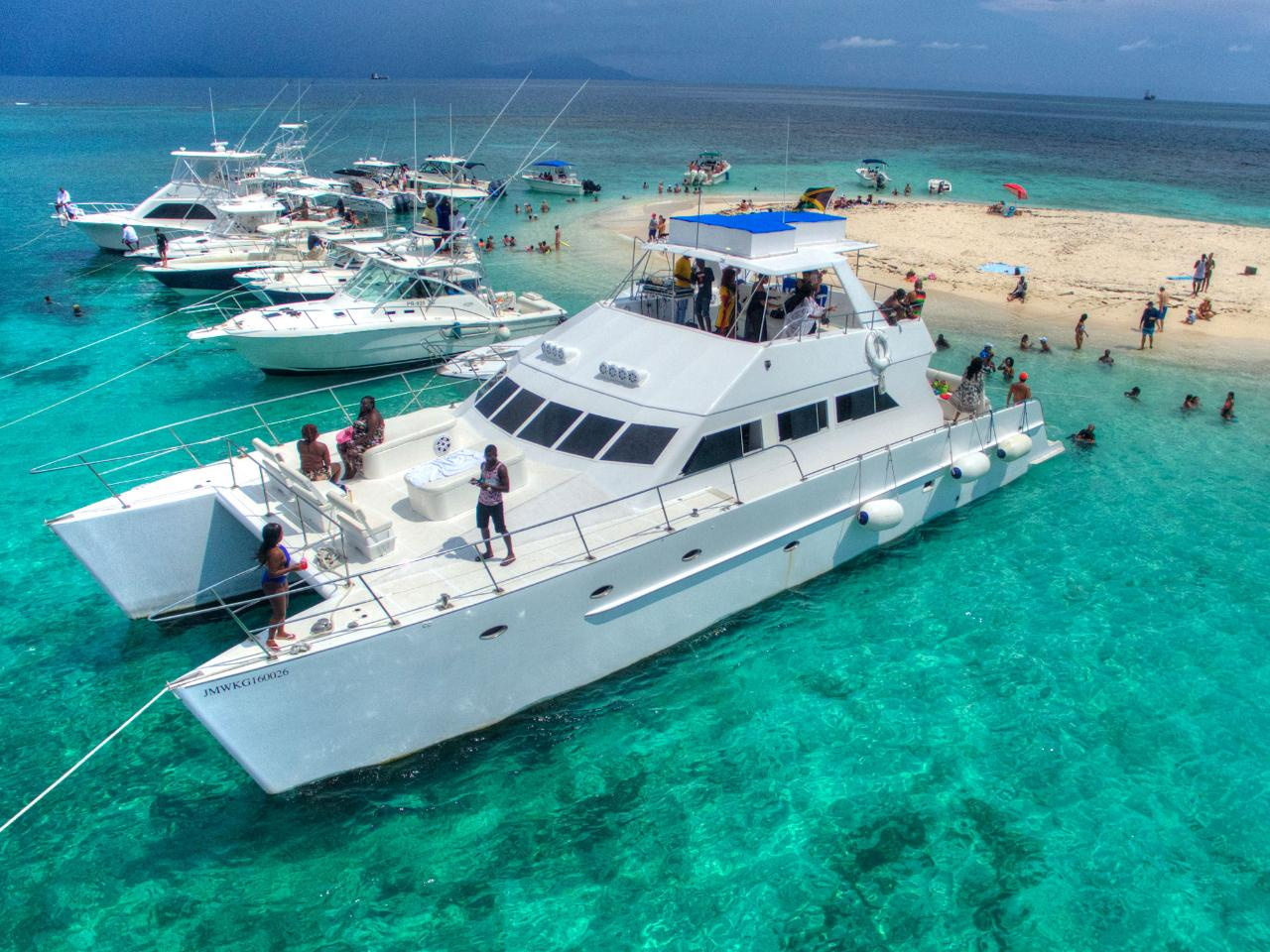 PRIVATE CHARTER - Loose Cannon 69 ft Catamaran DAY CHARTER (4 hours between 8am - 5pm)