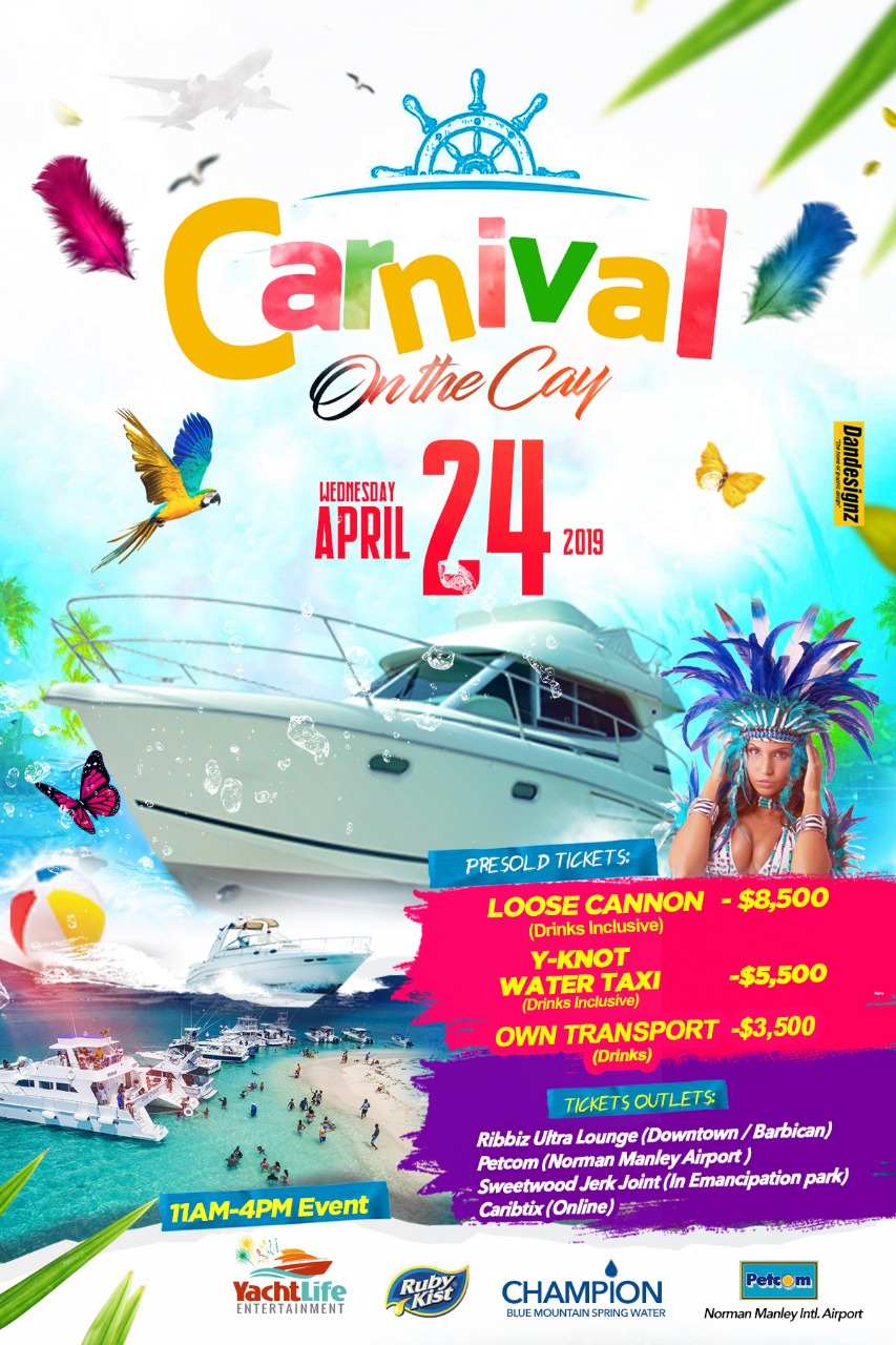 Carnival Wednesday on the Cay - April 24th, 2019