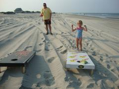 Sunshine Fun Corn Hole
