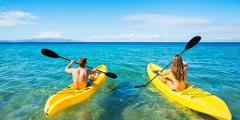 Sunshine Single Kayak Rental - Half Day