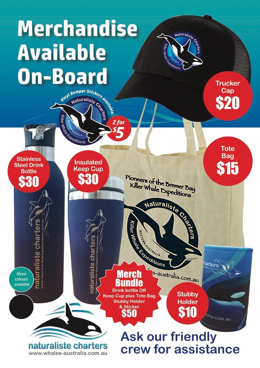 Naturaliste Charters Merchandise