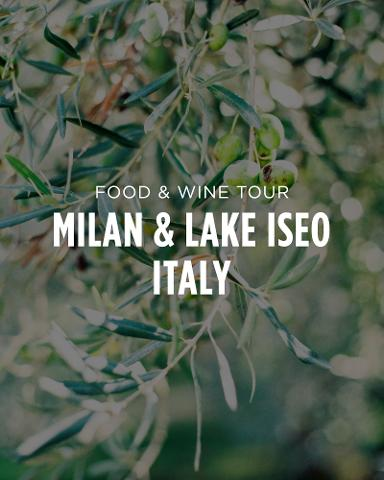 5 Star: Milan, Lake Como, Lake Iseo, Lake Garda, & Franciacorta Wine Country, Italy || 8 Day Food & Wine Tour