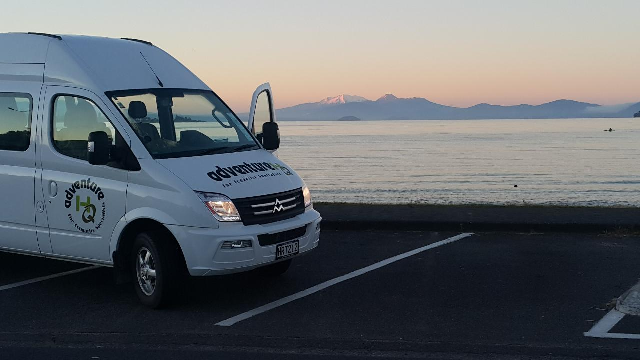 Tongariro Alpine Crossing Shuttle from Taupo (Summer only)