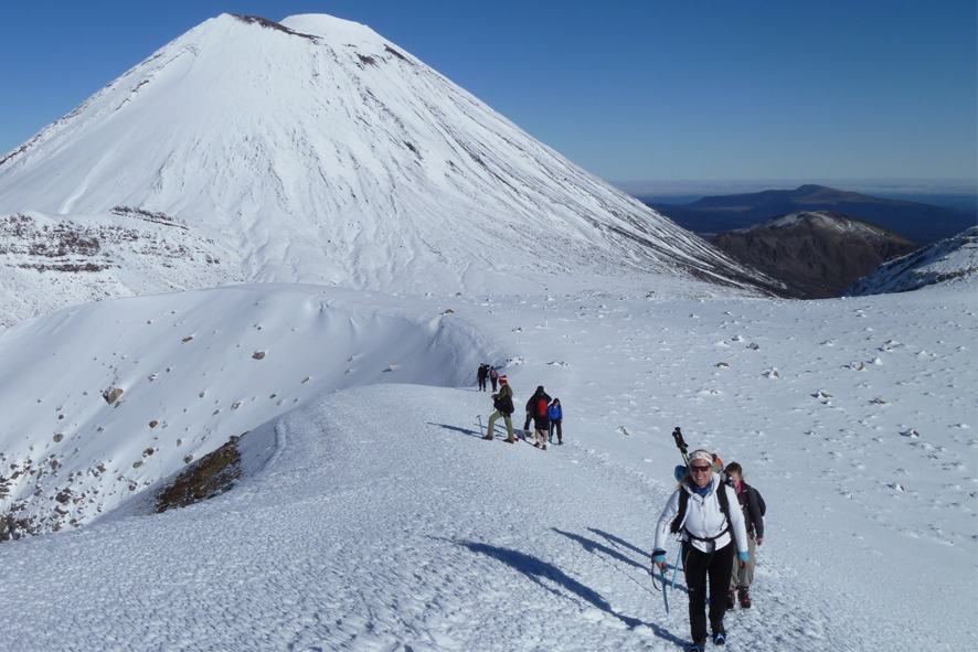 Tongariro Alpine Crossing Winter Guided Experience - Taupo