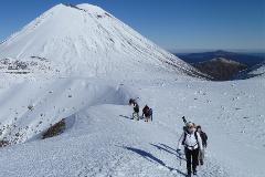 Tongariro Alpine Crossing Winter Guided Experience - Taupo