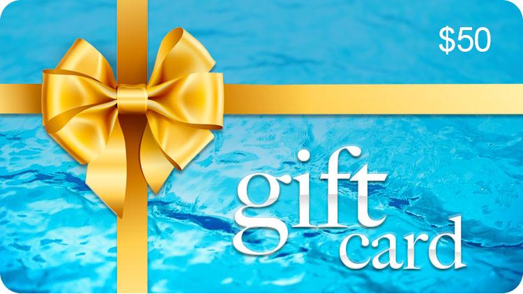 $50 GIFT CARD - CENTRAL COAST