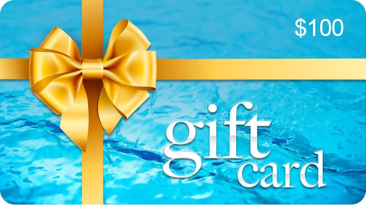 $100 GIFT CARD - CENTRAL COAST