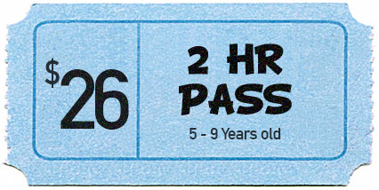 2HR PASS (5 – 9 Years Old) - CENTRAL COAST