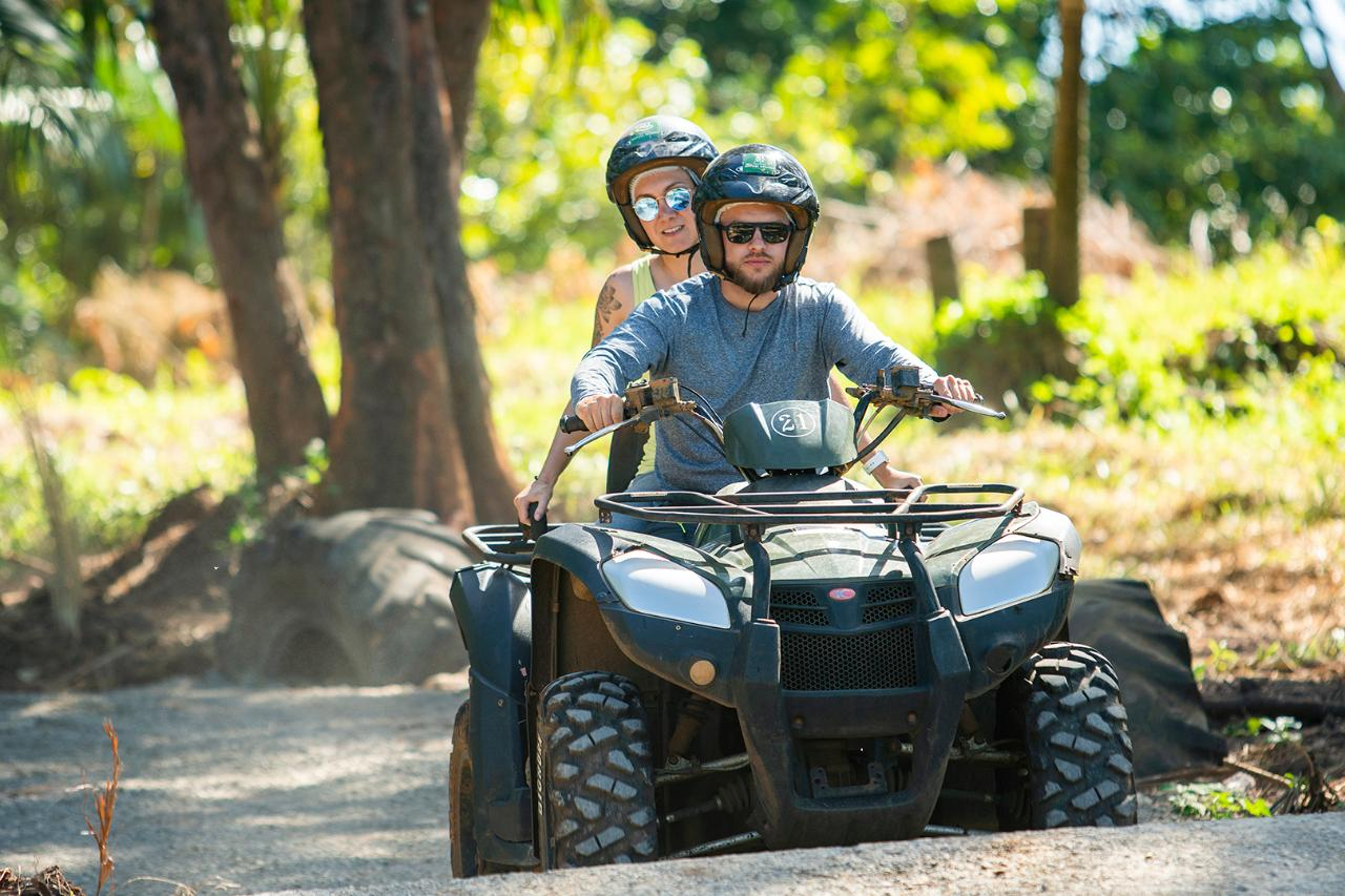 Eco-Quad bike at Frédérica Nature Reserve