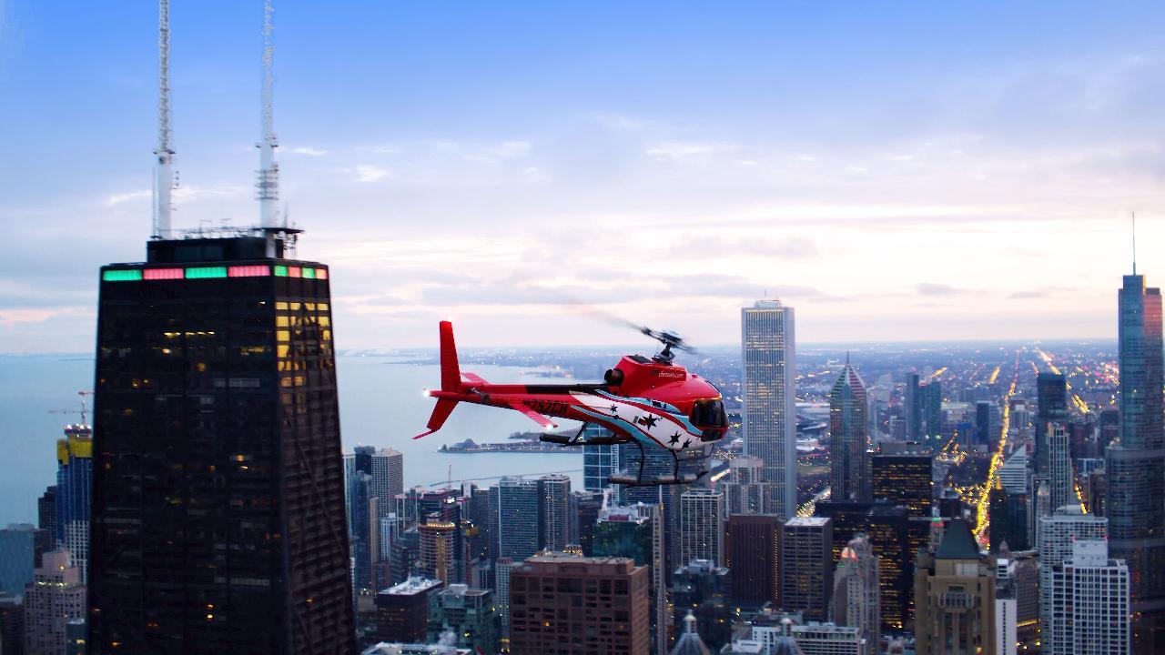 Helicopter Tour & 360 Chicago + TILT
