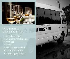 Mount Gambier to Penola/Coonawarra Trip - 21 Seater - Self-Drive Hire